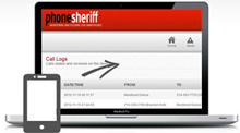 PhoneSheriff Control Panel