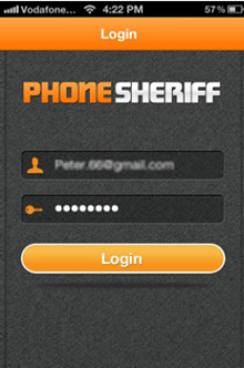 PhoneSheriff Login